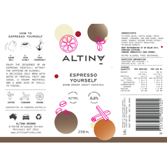 Altina Non Alcoholic Alc Free Cocktail Can Taster Pack