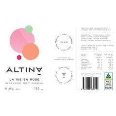 Altina Non Alcoholic Mixed Pack of Light Me Up and La Vie En Rose