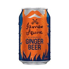 James Squire Ginger Beer Cans 330ml - Pack of 24