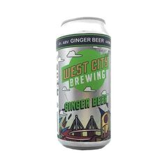 West City Brewing Ginger Beer 440ml - Pack Of 16