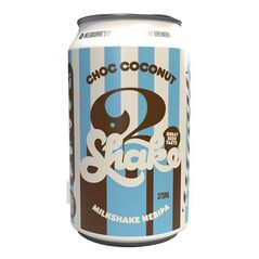 3 Ravens Choc Coconut Shake Cans 375ml - Pack Of 24