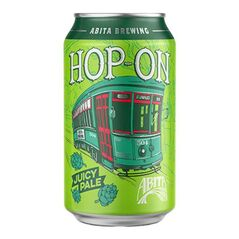 Abita Hop-on Beer Cans 355ml - Pack Of 24