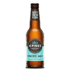 4 Pines Pacific Ale Bottles 330ml - Pack Of 24