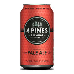 4 Pines Pale Ale Cans 375ml - Pack Of 24