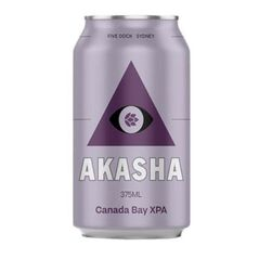 Akasha Brewing Canada Bay XPA Cans 375ml - Pack Of 24