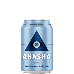Akasha Brewing Freshwater Pale Ale Cans 375ml - Pack Of 24