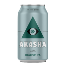 Akasha Brewing Hop Smith IPA Cans 375ml - Pack Of 24
