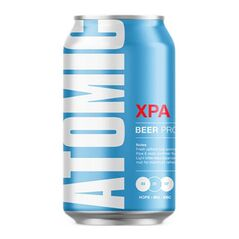 Atomic Beer Project Atomic XPA Cans 330ml - Pack of 24