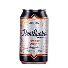 Bentspoke Hows It Gosen Cans 375ml - Pack of 24