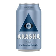 Akasha Freshwater Pale Ale Cans 375ml - Pack of 24