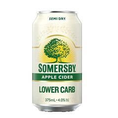Somersby Low Carb Apple Cider Cans 375ml - Pack of 30