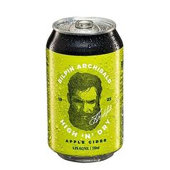 Bilpin  Archibald High N Dry Apple Cider Cans 330ml - Pack of 24
