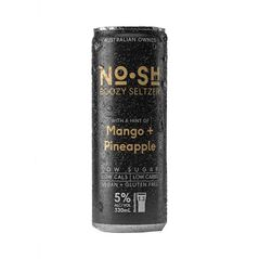 No.SH Boozy Mango & Pineapple Seltzer Cans 330ml - Pack Of 24