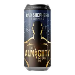 Bad Shepherd Brewing The Almighty Imperial IPA Cans 440ml - Pack of 16