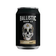 Ballistic Beer Co Mexican Hot Chocolate Stout Cans 375ml - Pack of 24
