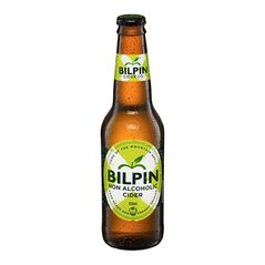 Bilpin Non Alcoholic Cider Bottles 330ml - Pack of 24