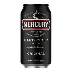 Mercury Hard Cider Cans 375ml - Pack of 24