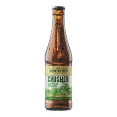 Monteith's Crushed Apple Cider Bottles 330ml - Pack of 24