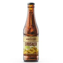 Monteith's Crushed Pear Cider Bottles 330ml - Pack of 24