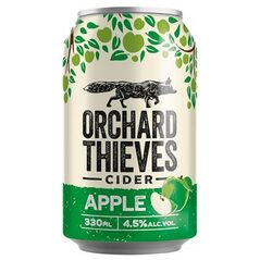 Orchard Thieves Crisp Apple Cider Cans 330ml - Pack of 30