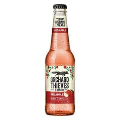 Orchard Thieves Red Apple Cider Bottles 330ml - Pack of 24