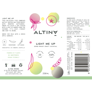 Altina Non Alcoholic Limited Edition Mixed Can Pack